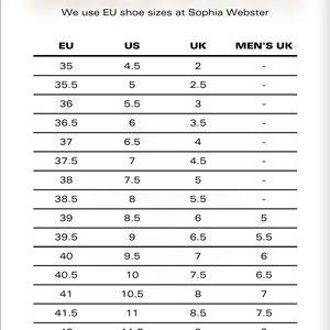 Sophia Webster Shoes - NWT Sophia Webster Espadrilles